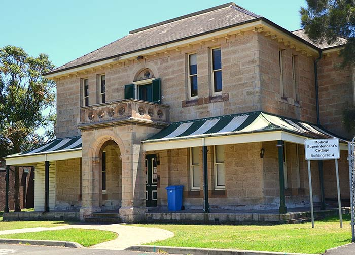 randwick historical building surrounded by strata properties